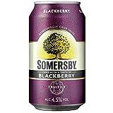 Somersby Cider (inkl. 6 EUR Pfand) 4,5% Vol. (24 x 0.33 l) (Blackberry)