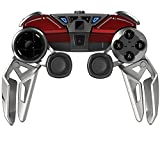 Manette mobile hybride Bluetooth Mad Catz L.Y.N.X.9 pour PC & appareils android - rouge glossy