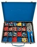 Draper Expert 56383 Crimp-Set mit Ratschen-Crimpzange