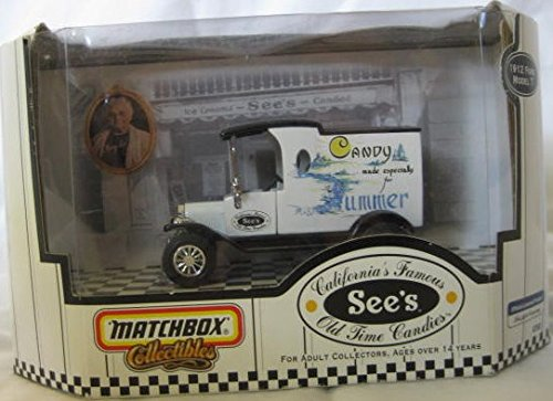 Matchbox Collectible - California's Famous See's Old Time Candies - Die Cast Delivery Truck (c1999) (Old Time Candy)