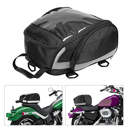 FRFJY Heck Beutel Seat Beutel Reise Set Motorrad Tasche Sport Gepäck Rücksitz Sitz Rucksack - Oxford