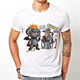 Lord Of The Rings Parody - You Shall Not Pass T-shirt (X-Large)