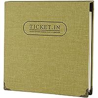 FaCraft Ticket Stub álbum con 120 ranuras para Almacenamiento deportes, película, entradas de conciertos