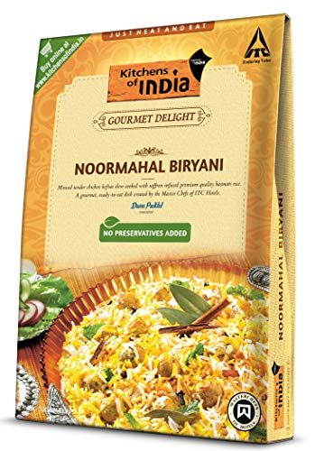 Kitchens of India Ready to Eat Noormahal Biryani, 250g