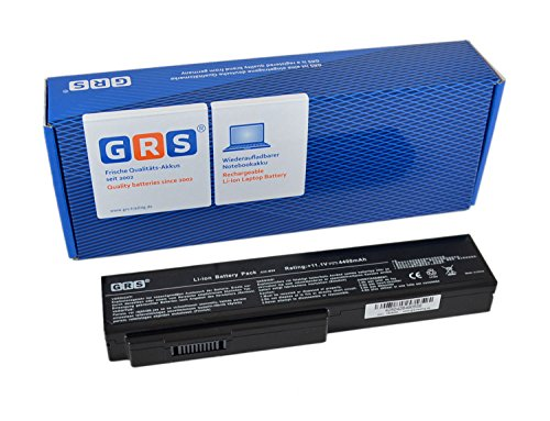 GRS Batterie pour Asus X64JV, G60VX, X57VN, X57, N61Jv, X55Sv, X55, Pro64, VX5, N53, G51Vx, G60, M50, N43JQ, M60, L50, remplacé: A32-M50, A32-N61, A33-M50, A32-X64, L072051