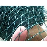 EASYSHOPPINGBAZAAR Anti Bird NET 6 Foot X 10 Foot with Strong Nylon Strings Green in Colour