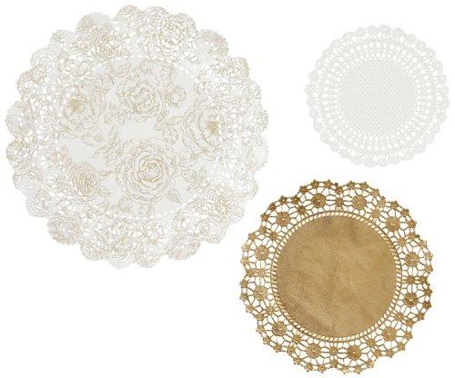 party-porcelain-centrini-colore-dorato-confezione-da-24