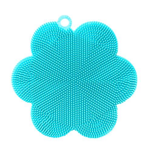 Outlook Design v4r0100200 Mousse pour Nettoyer Le Visage, fleur, bleu