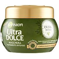 Garnier Ultra Dolce Oliva Mitica Maschera Intensa Nutriente per Capelli Inariditi Sensibilizzati - 300 ml