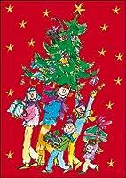 Advent Calendar - Quentin Blake - a glitter Christmas advent calendar