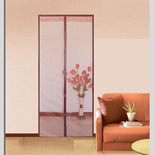 Sommer - mücke Moustiquaire Porte Magnétique, schlafzimmer - Fenster - Magnetvorhang-A-70x200cm(28x79inch)