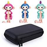 Bluestercool Children Kids Play Storage Case Bag, Dolls Portable Toys Rug Box For Finger Monkey/ Baby Monkey (Black)