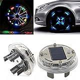 #2: Sellify 1x 4 Modes 12 LED RGB Car Auto Solar Energy Flash Wheel Tire Light Lamp Decor