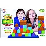 Ratna's Funny Town Plastic Blocks For Kids