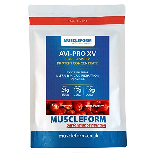 muscleform-avi-pro-xv-whey-protein-concentrate-83-1kg-resealable-pouch-fast-delivery-strawberry