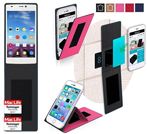 reboon Hülle für Gionee Elife S5.5 Tasche Cover Case Bumper | Pink | Testsieger
