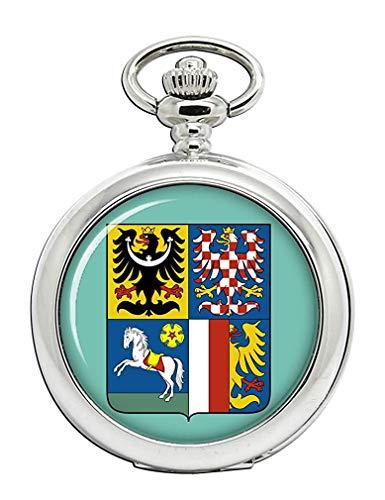 moravskoslezský Kraj (Tschechische) Full Hunter Taschenuhr -
