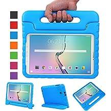 Galaxy Tab E 9.6 Funda,NEWSTYLE EVA Ligera Carcasa para Samsung Galaxy Tab E / Tab E Nook 9.6 Inch 2015 Tablet(Azul)