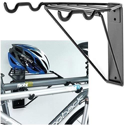 Gr8 - Soporte de pared plegable para 2 bicicletas