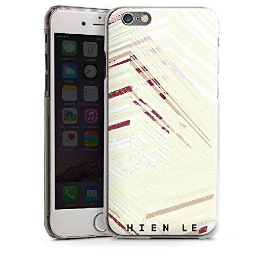 Apple iPhone 5s Housse Étui Protection Coque HIEN LE Fashion Mode CasDur transparent
