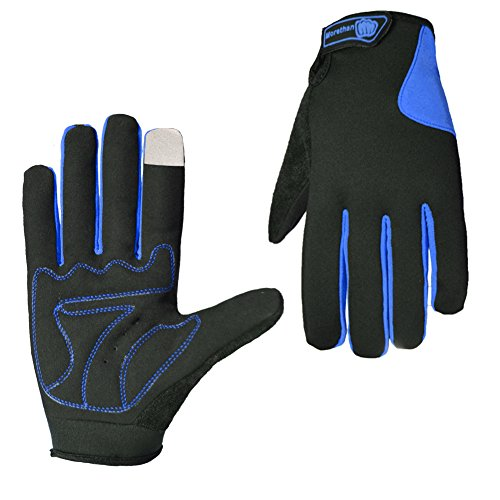 Rrimin Cycling Gloves Bicycle Sort Full Finger Touceen Gloves