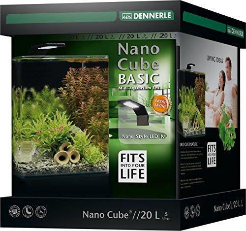 Dennerle 5579 NanoCube Basic 20L - Style LED NEU, M - 2