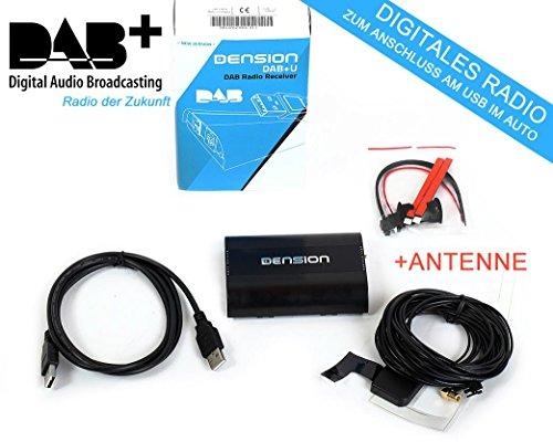 Dension DBU3GEN DAB+ nachrüstbarer USB Radio Empfänger +ANTENNE