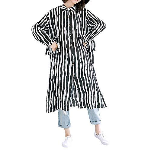HWTOP Damen Tops Bauchfrei Olymp Hemd Level 6 Super Slim Steampunk Bluse Damen Schwarz Hemd Damen Kariert Sweatshirt Oversize Damen Blusenkleid Weiß Schwarzes Hemd Damen XL Hemdkleid Damen