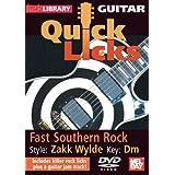 Guitar Quick Licks - Fast Southern Rock/Zakk Wylde