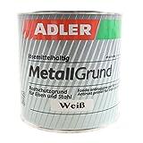 Metallgrund 750ml Weiß - Grundierung Korrosionsschutz für Metall Eisen