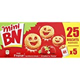 bn Mini biscuits fourrés goût fraise - ( Prix Unitaire ) - Envoi Rapide Et Soignée