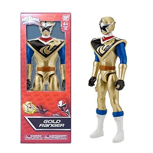 Power Rangers 43625Ninja Stahl 30cm Gold Ranger Figur