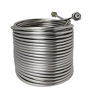 Stainless Steel Coil for Jockey Box - 120' Length by ABECO