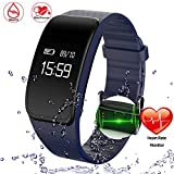 Best Next Blood Pressure Monitors - Getfitsoo Sport Fitness Tracker with Heart Rate Monitor Review