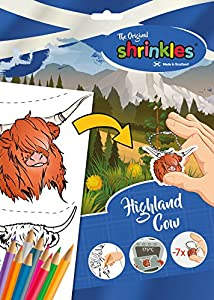 Shrinkles Shrinkles-WZ090 wz090 Original Escocia Highland Vaca Slim Pack, Color Desconocido (Keycraft