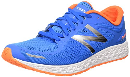 New Balance M1980 Zante Fresh Foam Nbx Performance, baskets sportives homme bleu (Blue/Orange)