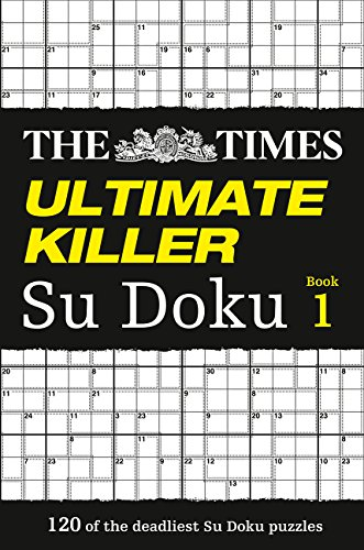 The Times Ultimate Killer Su Doku por The Times Mind Games