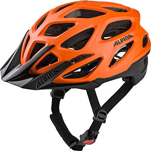 Alpina Unisex- Erwachsene Mythos 3.0 L.E. Fahrradhelm, orange-Black, 52-57 cm
