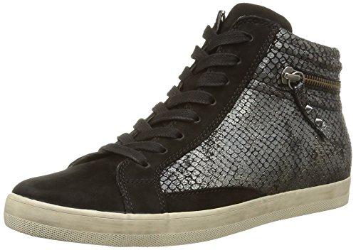 Gabor - 36-422-80, Sneaker Donna Grigio (Gris (Argento Schwarz))
