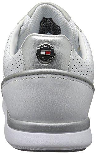 Tommy Hilfiger S1285kye 14c1, Scarpe da Ginnastica Basse Donna Bianco (White 100)