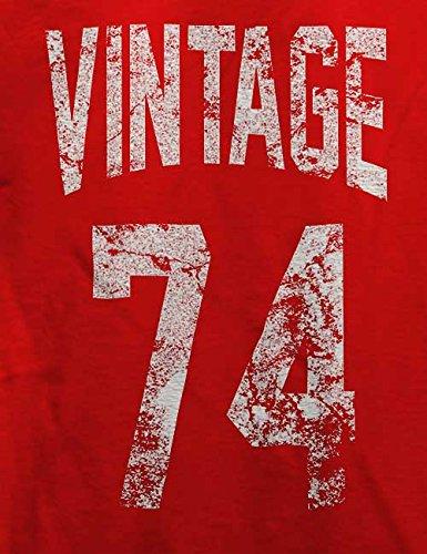 Vintage 1974 T-Shirt Rot