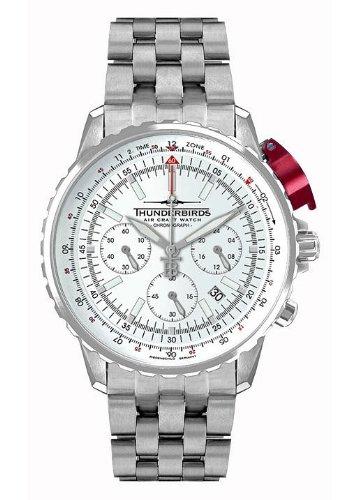 -Thunderbirds Watches -FightingSteelPro White 1052/02-02-S52