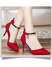 HUAHUA Sandalen Weiblichen Biskuitteig Unteren Hang mit Weiblichen Schuhe Koreanische Version Des Tau-Tag Schuhe Für Wilde Frauen Schuhe mit Schlitz