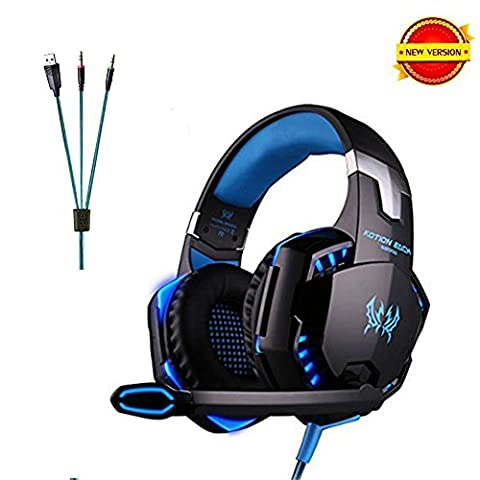 Daping Casque Gamer Casque Gaming Micro Filaire Basse Stéréo Micro