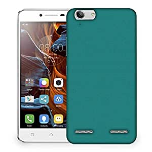 Snoogg Pixel Art Turquoise Designer Protective Phone Back Case Cover For Lenovo K5 Vibe