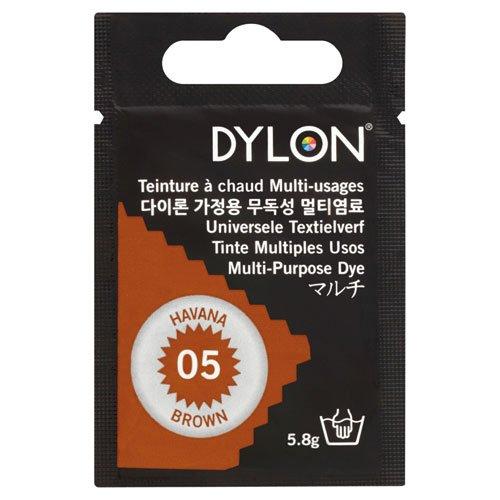 Dylon Multi-Purpose tessuti - 10gr, 05 Havana Brown ( Carne- Tan )