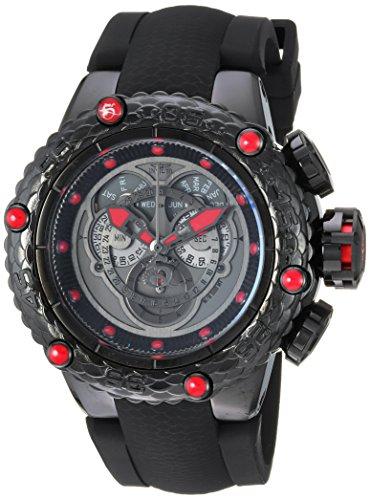 Invicta 25384 - Reloj de Pulsera Hombre, Silicona, Color Negro