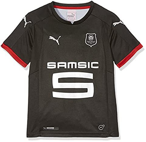 PUMA Stade Rennais Fc Away Replica Maillot Mixte Enfant, Puma Black, FR : M (Taille Fabricant :