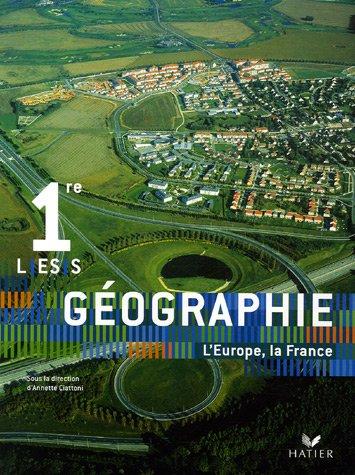 Géographie 1e L-ES-S