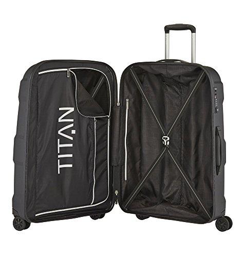 TITAN X2 Hartschalenkoffer Größe M+, 825407-01 Koffer, 71 cm, 90 L, Black Shark - 2